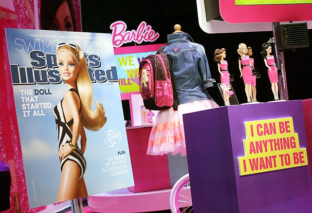 This year's much anticipated volume for bathing suit aficionados was unveiled at the American International Toy Fair in New York.