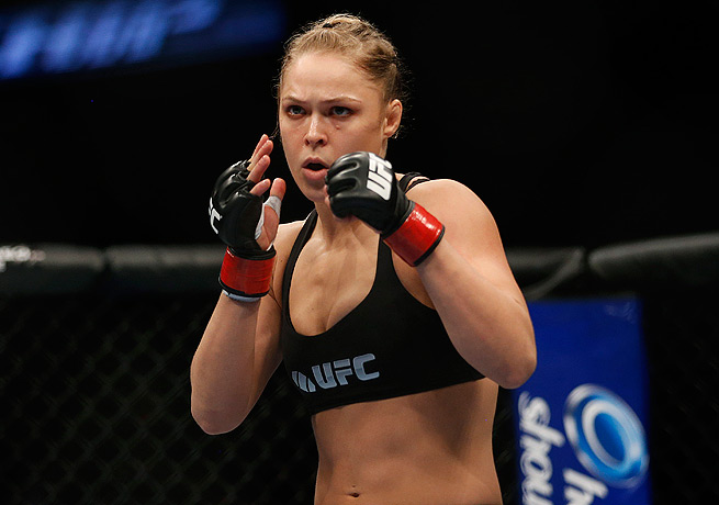 Ronda Rousey will look to extend her dominance by topping fellow former Olympian Sara McMann.