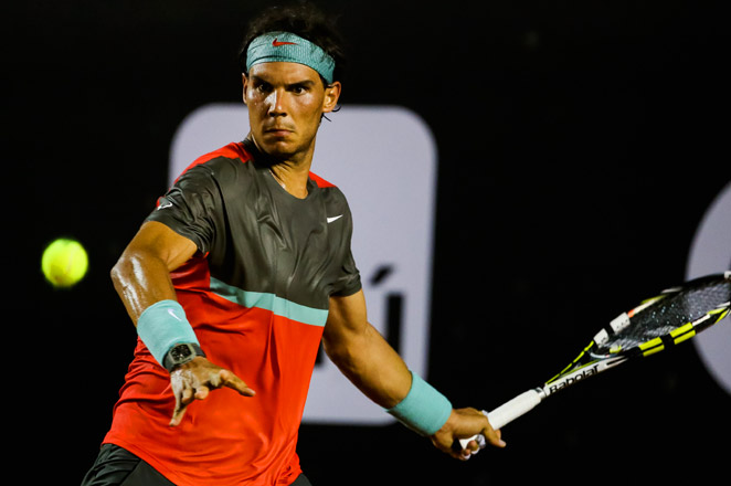 Nadal's back appeared to be fine in his win over Daniel Gimeno-Traver in the first round of the Rio Open.