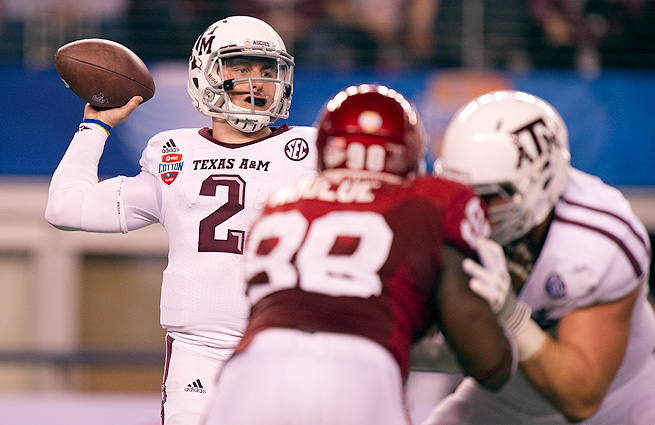 Johnny Manziel's unique playmaking ability could be too intriguing to pass up at No. 1 overall.