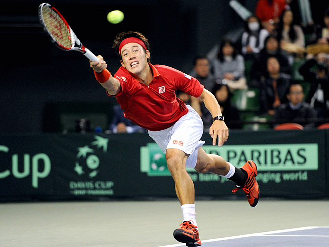 No. 15 Kei Nishikori, a four-time winner, is the highest-ranked Asian player on the ATP Tour.