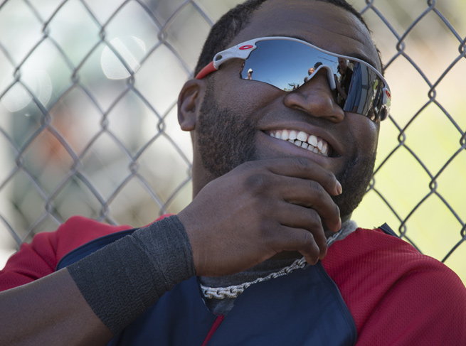 David Ortiz, 38, is entering his 12th season as a member of the Red Sox.
