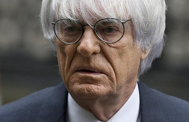 Bernie Ecclestone wasn't fully cleared, but he insists the judge heard only partial evidence in his case.