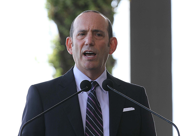 MLS commissioner Don Garber is prepared to start the season without his regular referees with a work stoppage looming.
