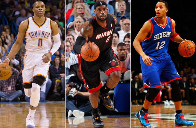 The return of Russell Westbrook, power of LeBron James and trade of Evan Turner highlighted Thursday.