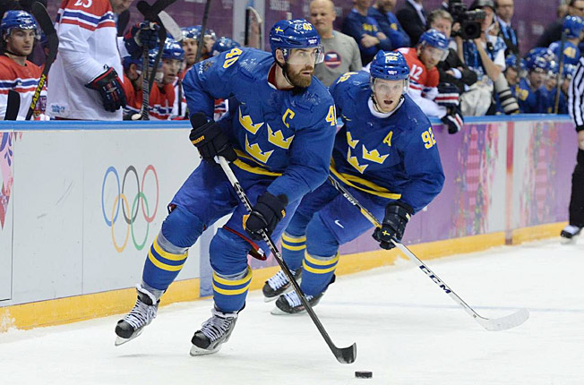 Team Sweden captain Henrik Zetterberg's time at the Olympics was ended by back surgery.