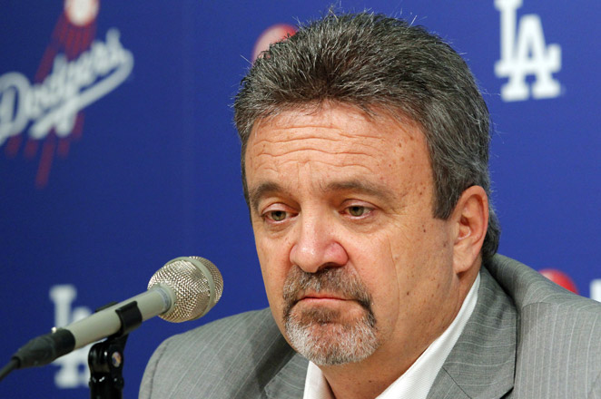 Dodgers GM Ned Colletti (above) says the 23-year-old defected from Cuba last fall, and has been working out in the Dominican Republic.