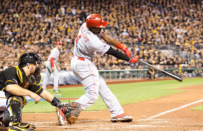 Brandon Phillips hit 103 RBI last season, enough for some to argue that he should have been the Reds' MVP.