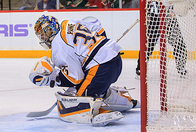 The Predators' playoff hopes will likely rest on whether Pekka Rinne can return this season.