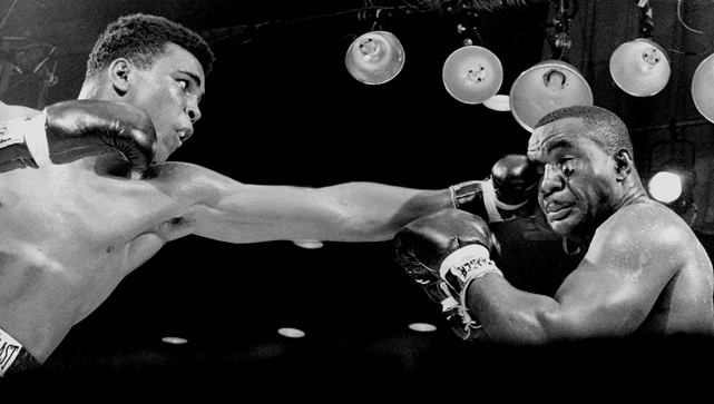 By the third round, Liston's face was showing the effects of Clay's slashing punches, and the once-fearsome champion was already looking like a much older fighter, one on the way to unexpected defeat.