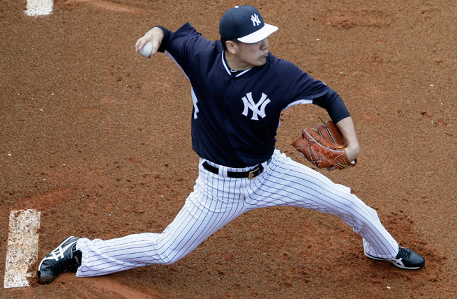 Masahiro Tanaka will make his Yankees debut in relief on Mar. 1 against Philadelphia.
