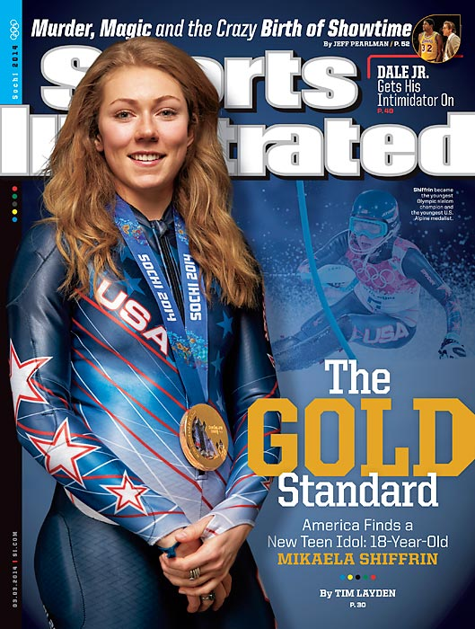 18-year-old Mikaela Shiffrin overcame her nerves and escaped a near-fall to win gold in the Olympic slalom, becoming the first U.S. women's slalom medalist since 1972 and the youngest Olympic slalom gold medalist. With her youth, Shiffrin is poised to become the face of Team USA for future Winter Olympics.