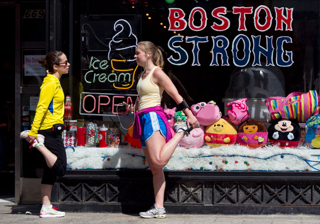 The Boston Marathon bombing resulted in an outpouring of support from marathons around the world.