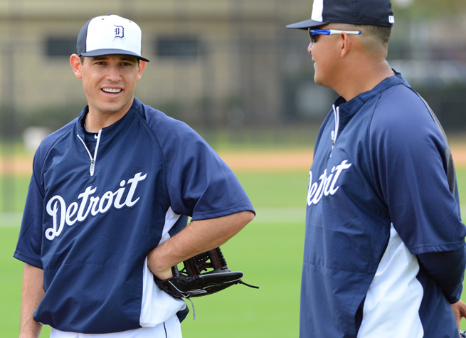 Ian Kinsler's addition and Prince Fielder's departure allow Miguel Cabrera to move from third to first.
