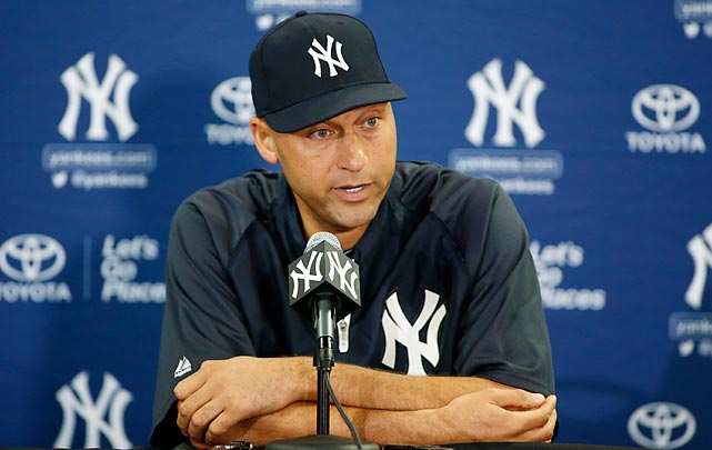 "The longtime Yankees shortstop announced in February his intention to retire from baseball at the end of the 2014 season, which will be his 20th season. ""Captain Clutch"" will finish his career as an all-time pinstripes legend and one of the greats of his era. Entering his final year, Jeter has played in 13 All-Star games and has won five World Series championships. When he officially retires, he'll be remembered as one of the greatest New York Yankees ever and a player who helped usher in a new era of Yankee glory."