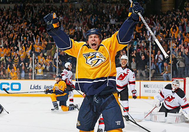"He's possible trade bait because, like so many other players on this list, he is scheduled to become an unrestricted free agent at the end of the season. If the Predators don't deal Legwand, who says that contract talks with the team ""aren't anywhere"" at the moment, they could lose the 33-year-old center this summer for nothing. With 10 goals and 40 points, he is Nashville's leading scorer, in addition to being the franchise's first-ever draft pick -- a sentimental reason for the club to keep him. His no-trade clause will make it tough to get a deal done. -- <italics>Mark Beech</italics>"
