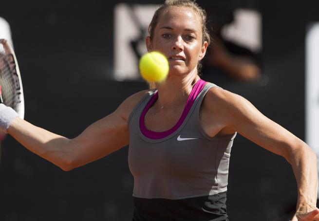 Klara Zakopalova won her third WTA title by capturing the Brazil Cup final in three sets.