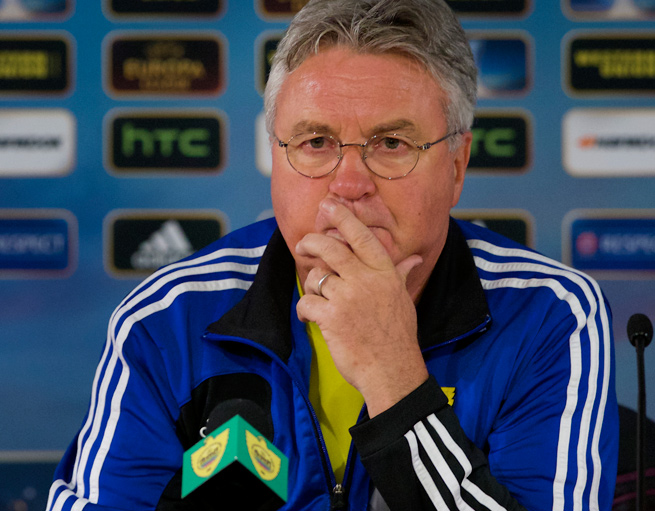 Guus Hiddink served as the manager of the Dutch national team from 1995 to 1998.