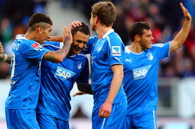 Hoffenheim is the third highest-scoring team in the Bundesliga after Bayern Munich and Borussia Dortmund.