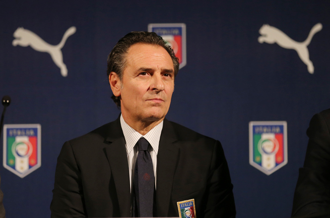 Italy manager Cesare Prandelli is considering remaining with the Azzurri after this summer's World Cup.