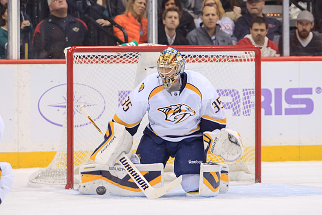 Pekka Rinne's return couldn't come soon enough for the playoff hopeful Predators.