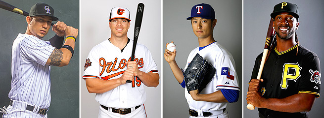Carlos Gonzalez, Chris Davis, Yu Darvish and Andrew McCutchen will be among first picked in drafts.