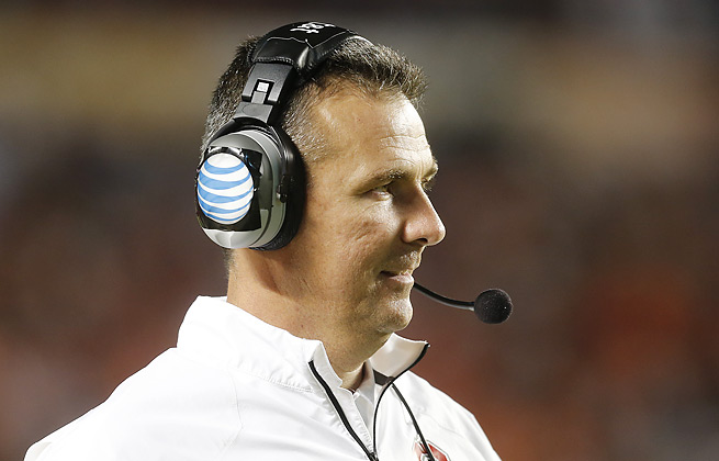 Urban Meyer's surgery to remove fluid from a cyst on his brain will not see him miss practice.
