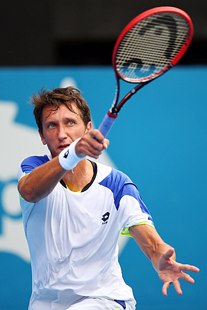 Sergiy Stakhovsky has played a full tennis schedule this year amid the unrest in his native Ukraine.