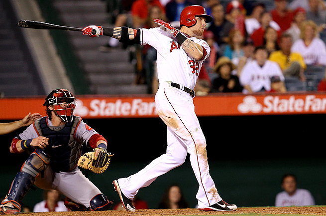 Josh Hamilton had a down season last year, but keep in mind that he is a proven rebounder.
