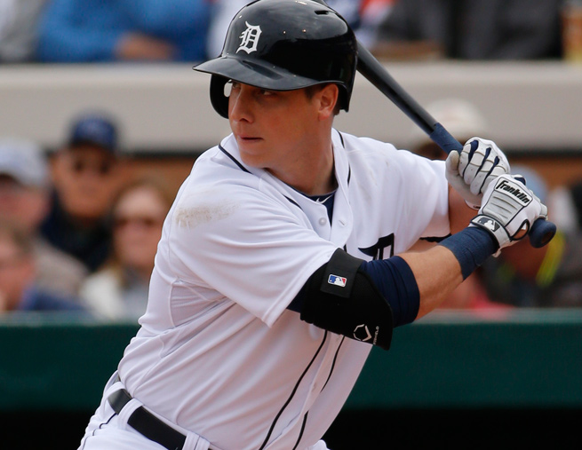 Andy Dirks slashed .256/.323/.363 in 484 plate appearances for the Tigers last season.