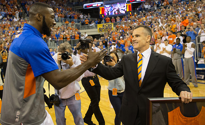After a frustrating freshman season, Florida's Patric Young (left) bought into Billy Donovan's system.