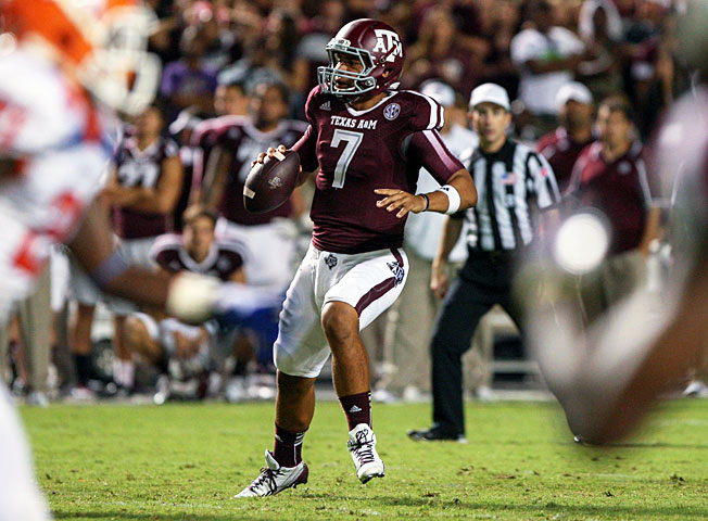 Kenny Hill will compete with Kyle Allen and Matt Joeckel to replace Johnny Manziel as the Texas A&M QB.