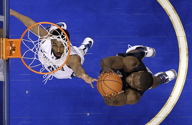 Moses Ayegba and the Georgetown Hoyas will try to to secure a bid to the NCAA tournament during this week's Big East tournament.
