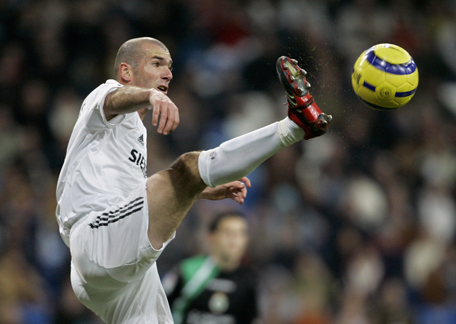 Former Real Madrid star Zinedine ZIdane is one of the greatest to ever play the game.