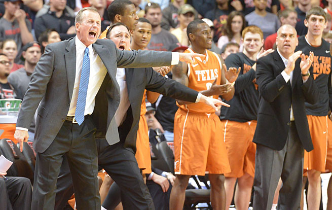 Rick Barnes has the Longhorns pointed back in the right direction and headed for the NCAA tournament.