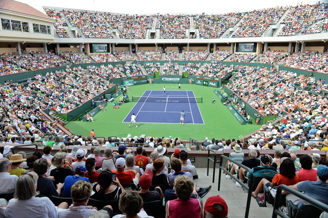 Indian Wells' 8,000-seat Stadium 2 debuted to rave reviews this year at the BNP Paribas Open.