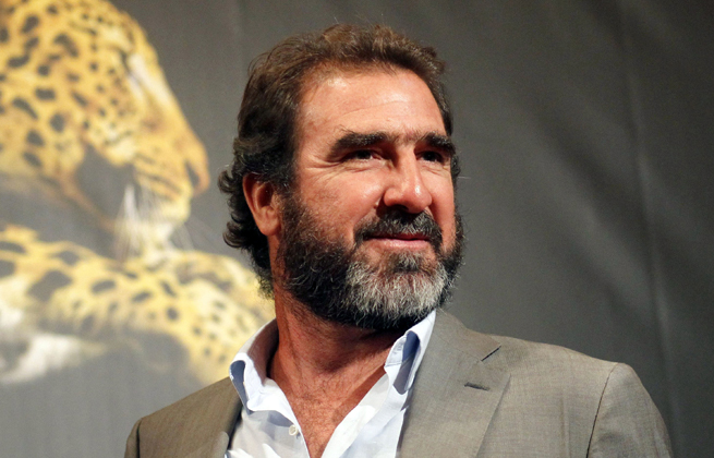 Former Manchester United great Eric Cantona was arrested for assault in London on Wednesday.