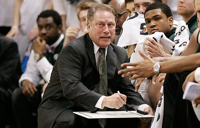 Despite a spate of injuries, Tom Izzo led Michigan State to a 23-8 regular-season record.
