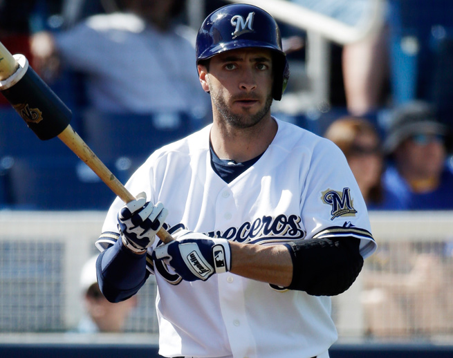 Ryan Braun returns to baseball after a 65-game suspension for the Biogenesis scandal in 2013.