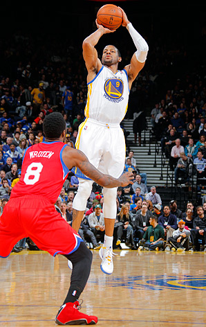 Andre Iguodala is attempting only 7.5 shots per game, his lowest average since his rookie season of 2004-05.