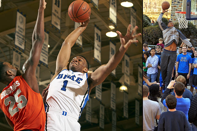 The moment Jabari Parker chose Duke over ? well, any school would have taken him ? he was an instant favorite for the Cameron Crazies. And that's a fan base you want rooting for you, not against you.