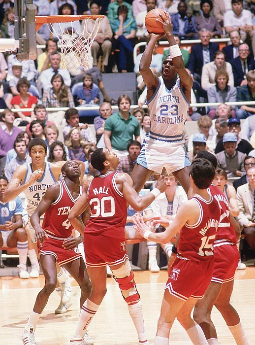 1957 -- Def. Kansas, 54-53 1982 -- Def. Georgetown, 63-62 1993 -- Def. Michigan, 77-71 2005 -- Def. Illinois, 75-70 2009 -- Def. Michigan State, 89-72