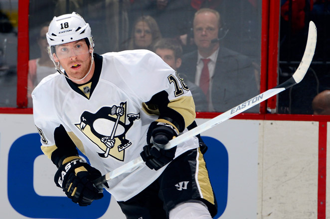 James Neal has 22 goals and 27 assists in 44 games this season for the Metropolitan Division-leading Penguins.