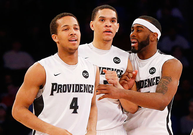 Josh Fortune, Tyler Harris and LaDontae Henton have helped Providence move off the bubble.