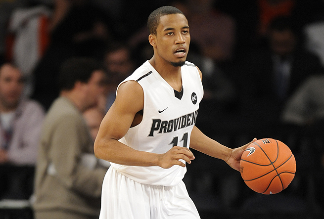 Bryce Cotton, Providence's steadying force all year, had 18 points and 10 assists Friday.