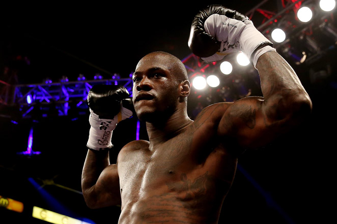 Deontay Wilder got his 31st straight knockout on Saturday night against Malik Scott at Ruben Rodriguez Coliseum.