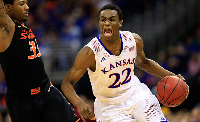 While Joel Embiid is out, all eyes will be on Andrew Wiggins. Can he carry the Jayhawks' load?