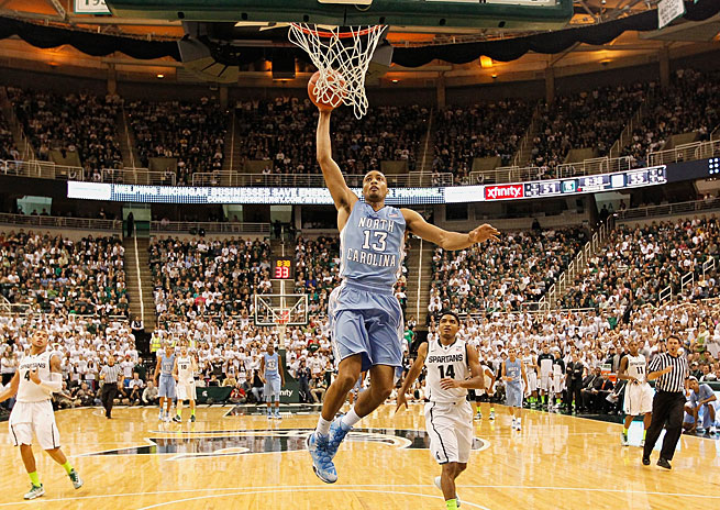 J.P. Tokoto and the Tar Heels deserved better than a six-seed given their slew of impressive wins, including a victory at then-No. 1 Michigan State.