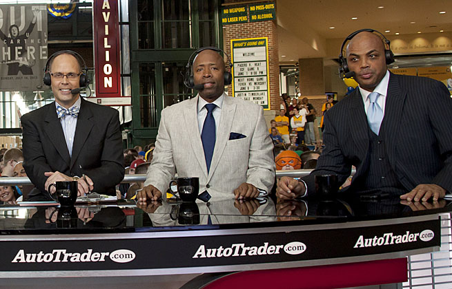 TNT's NBA crew, Ernie Johnson, Kenny Smith and Charles Barkley, will lead the Turner's NCAA coverage.