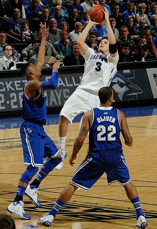 Leading Scorer: Doug McDermott (26.9 ppg., pictured) Leading Rebounder: Doug McDermott (7.0 rpg.) Leading Passer: Austin Chatman (4.4 apg.) Bad Losses: @ Georgetown Good Wins: @St. Joe's, Nebraska, Villanova (twice)
